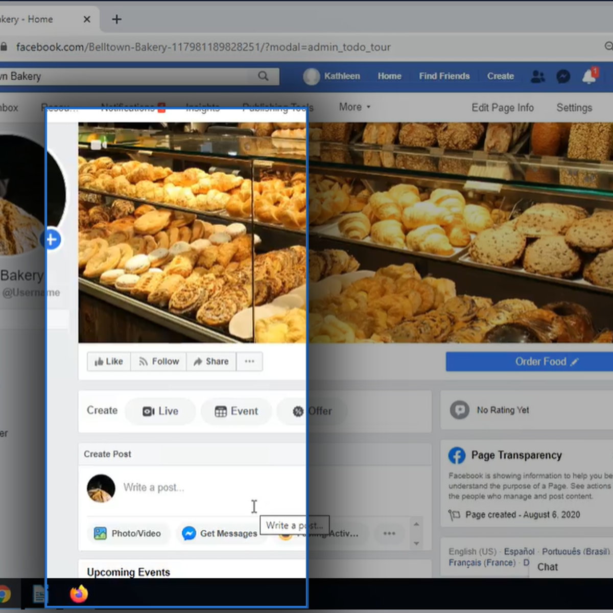 Building a Business Presence With Facebook Marketing