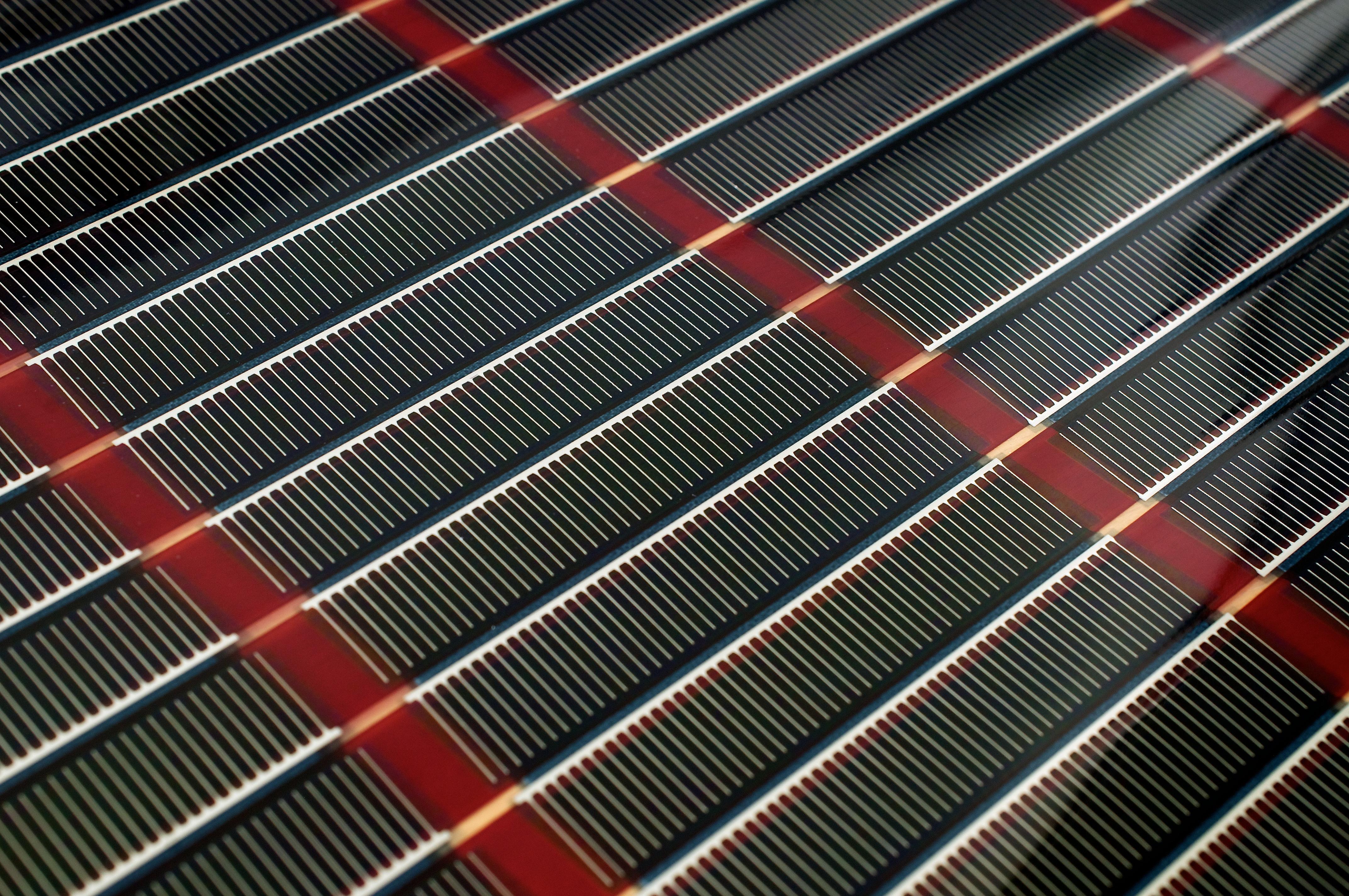certificate in organic solar cells